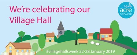 Village Halls Week logo