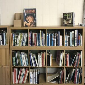 photo of new bookcases